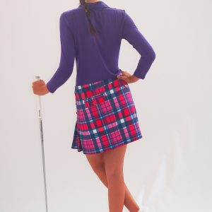 Women's Golf Apparel Classic Kilt Tasker Check