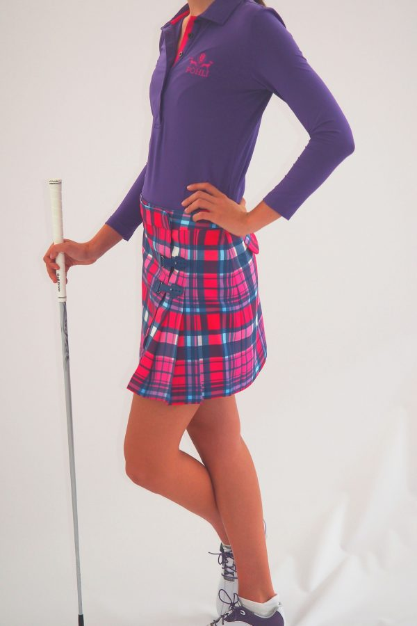 Women's Golf Apparel Classic Kilt Tasker Check