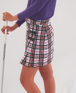 Women's Golf Apparel Classic Kilt Sadlers Check