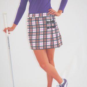 Women's Golf Apparel Classic Kilt Sadler's Check