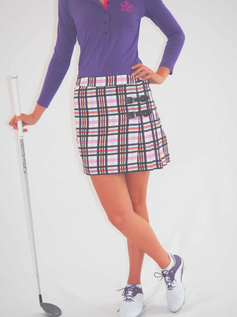 Women's Golf Apparel Classic Kilt Sadler's Check