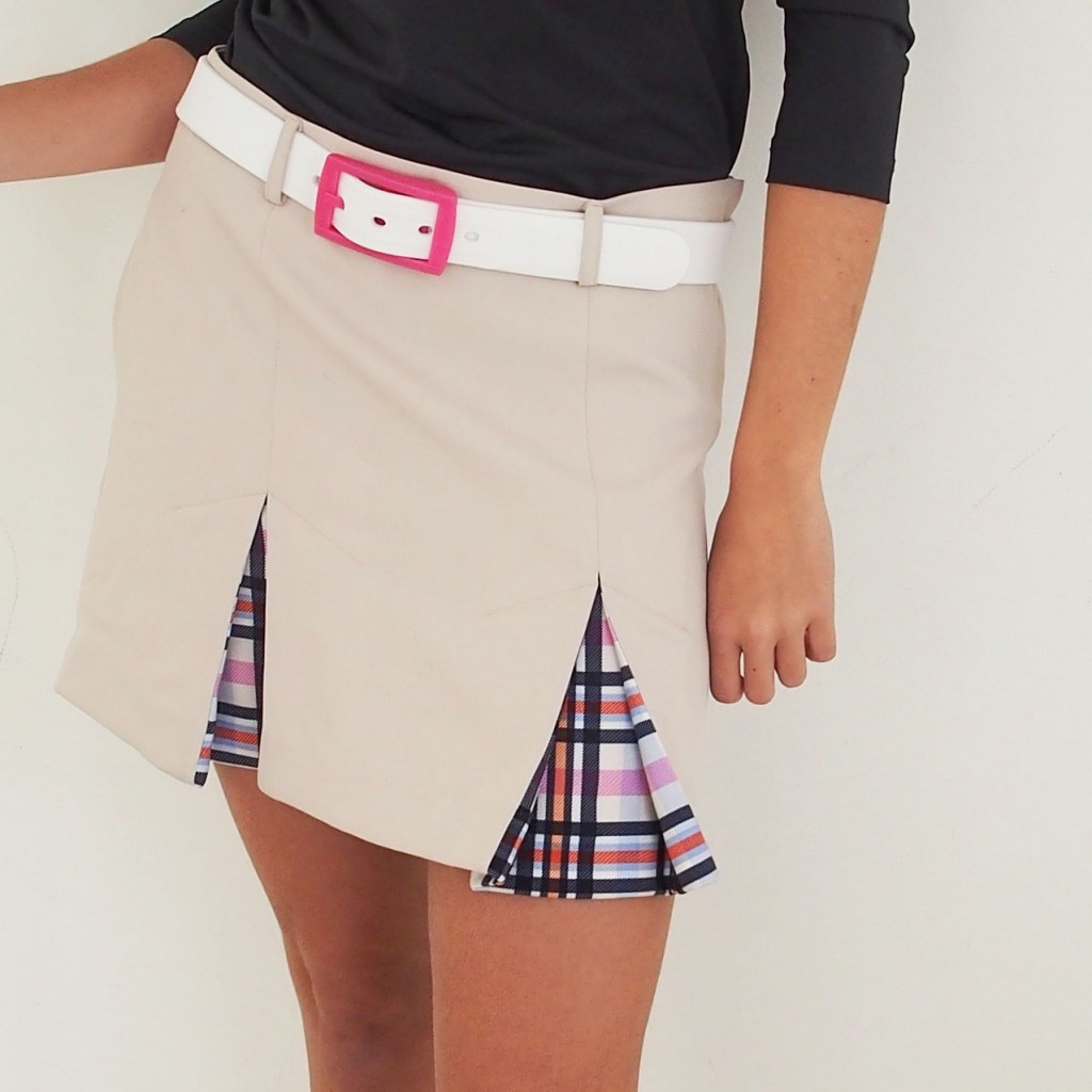 Women's Golf Apparel Hobbs Skirt Sadlers  Check