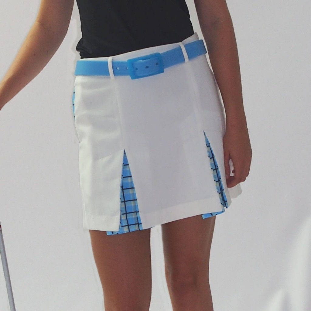 Women's Golf Apparel Hobbs Skirt White
