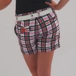 Women's Golf Apparel Jinks Shorts Sadler Check