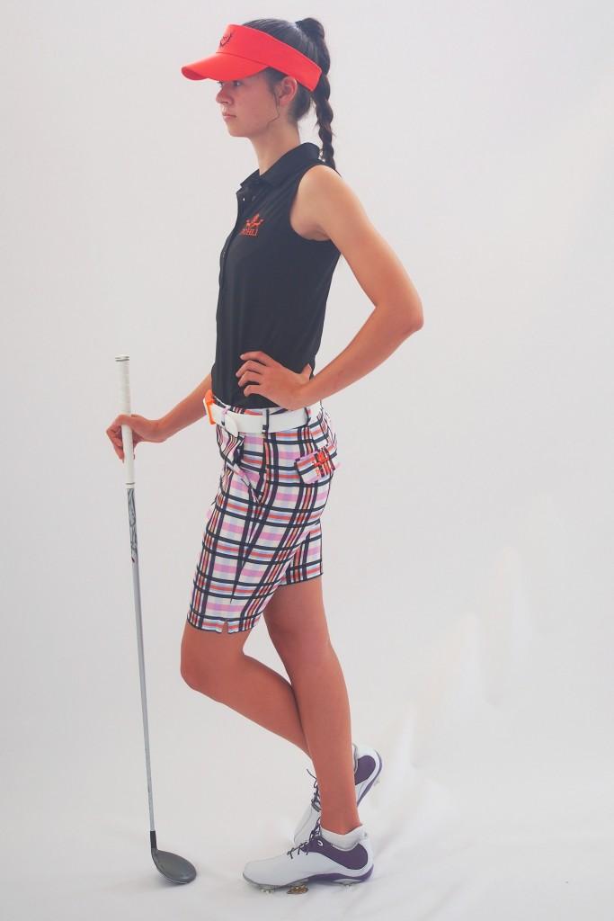 Women's golf apparel - Kingston Shorts