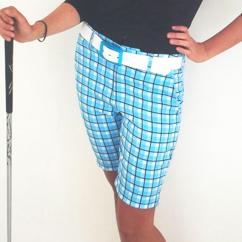 Women's Golf Apparel Kingston Short Butlers Blue