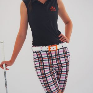 Women's Golf Apparel Kingston Shorts Sadlers Check