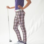 Women's Golf Apparel Milton Sadler Check