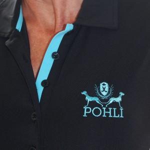 Women's Golf Apparel - Blue Top