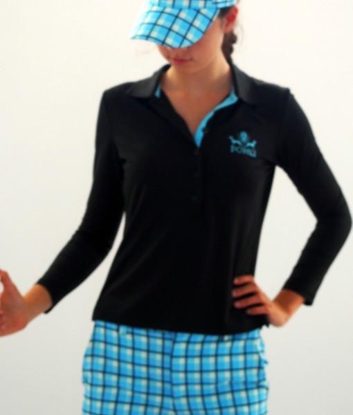 Women's Golf Apparel - Top long sleeve front