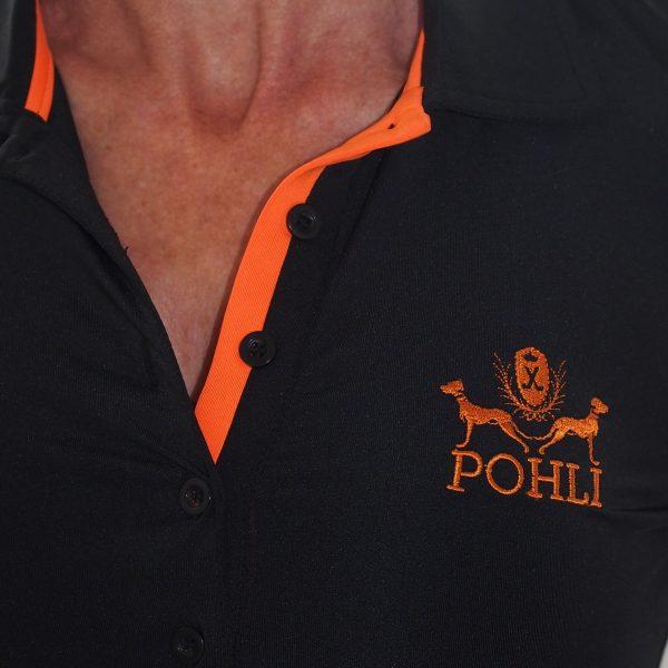 Women's Golf Apparel - Orange Top