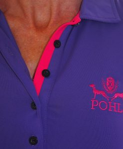 Women's Golf Apparel - Purple Top