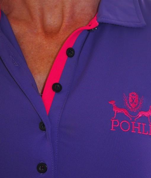 Women's Golf Apparel - Purple Top