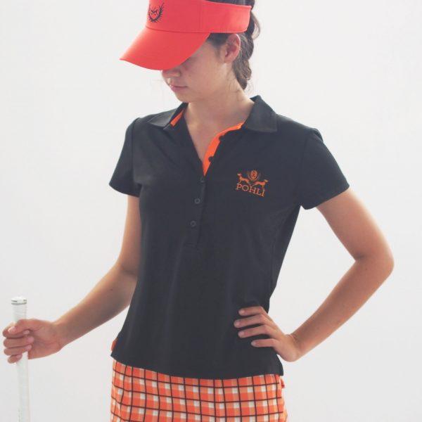 Women's Golf Apparel - Top short sleeve front