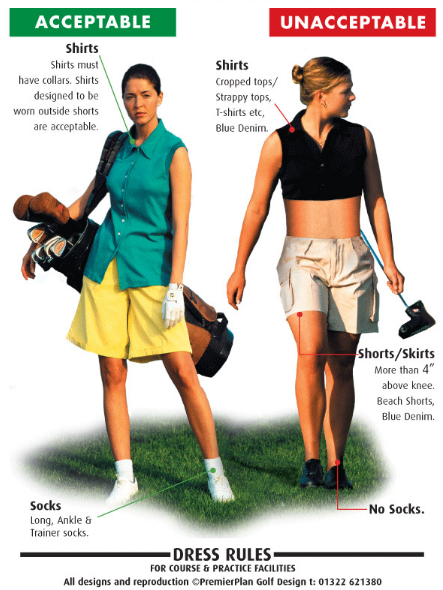 """Women&-39-s Golf Skirts – The """"Length Debate"""" continues. -"""