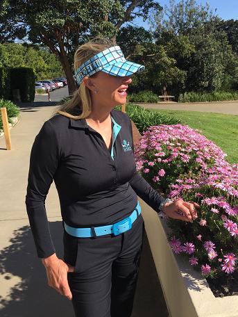 Women's Golf Apparel, Women's Golf Wear, Women's Golf Top, Women's Golf Belt, Women's Golf Accessories