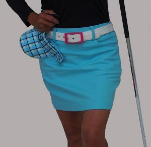 Women's Golf Wear, Women's Golf Apparel, Women's Golf Skort, Golf Skirt, Golf Belt, Golf Visor