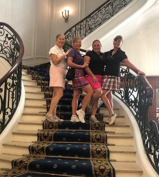 Women's Golf Holidays, Women's Golf Wear Golf Holidays Biarritz, Golf Holidays France, Women's Golf Wear, Golf Skirt, Donald Trump G7, Boris Johnston G7 Biarritz, Women's Golf Wear, Women's Golf Holidays in France, Women's Golf Apparel